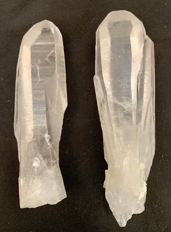 Large Lemurian Seed Crystals