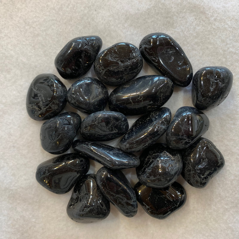 Medium Black Tourmaline