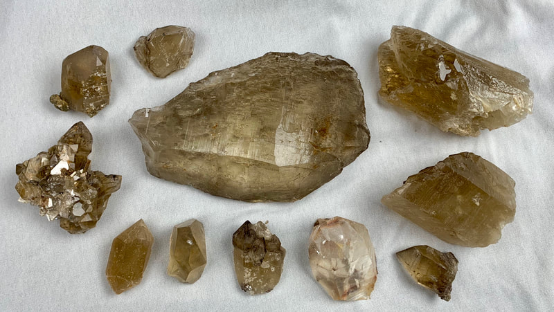 Citrine natural, excellent quality and condition