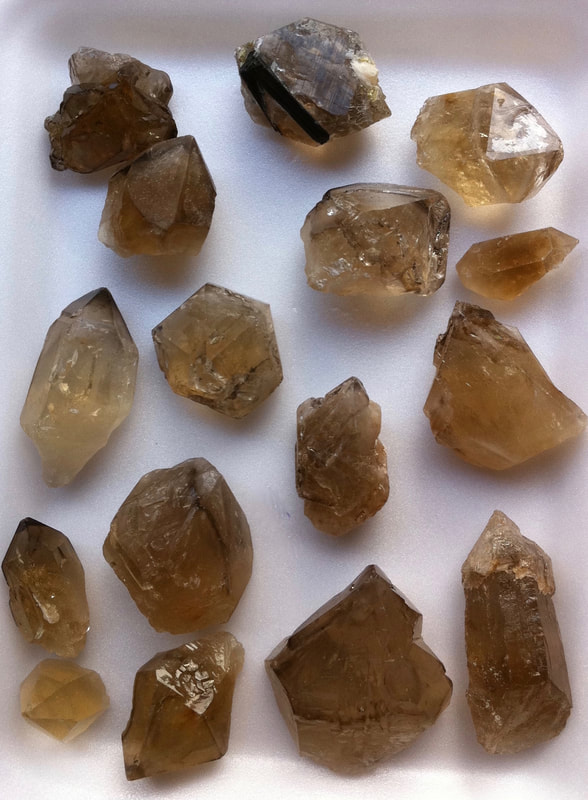 Citrine Elestial (Jacaré), premium quality and condition